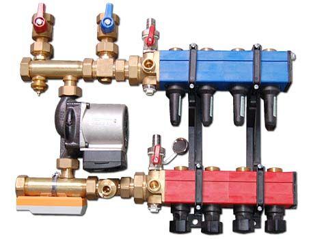 Pumpennebenstation - bis zu 90 m²