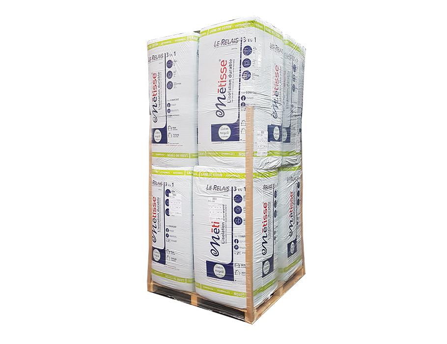 Metisse isolatie platen - 50mm - PM - per pallet