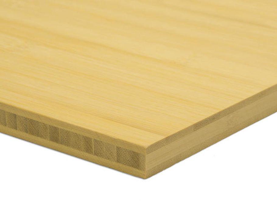 Tafelblad - naturel - plain-pressed - 160 x 80cm