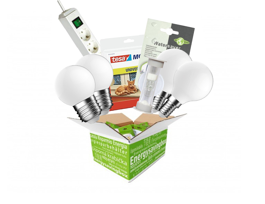 Energiebespaarbox - Medium - Mix