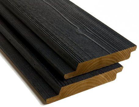 Fins rabathout XL - Zwart