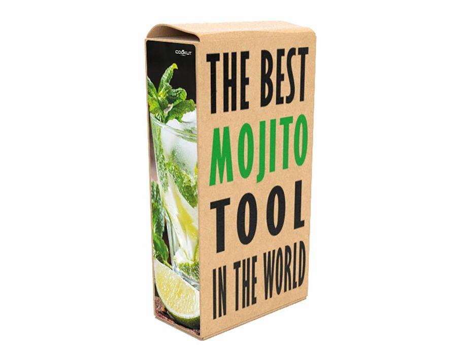 Mojito Tool Geschenk verpakking met 4 Glazen