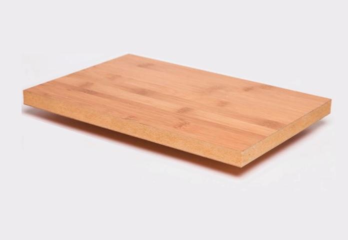 Meubelplaat- caramel - plain-pressed - 200 x 20cm