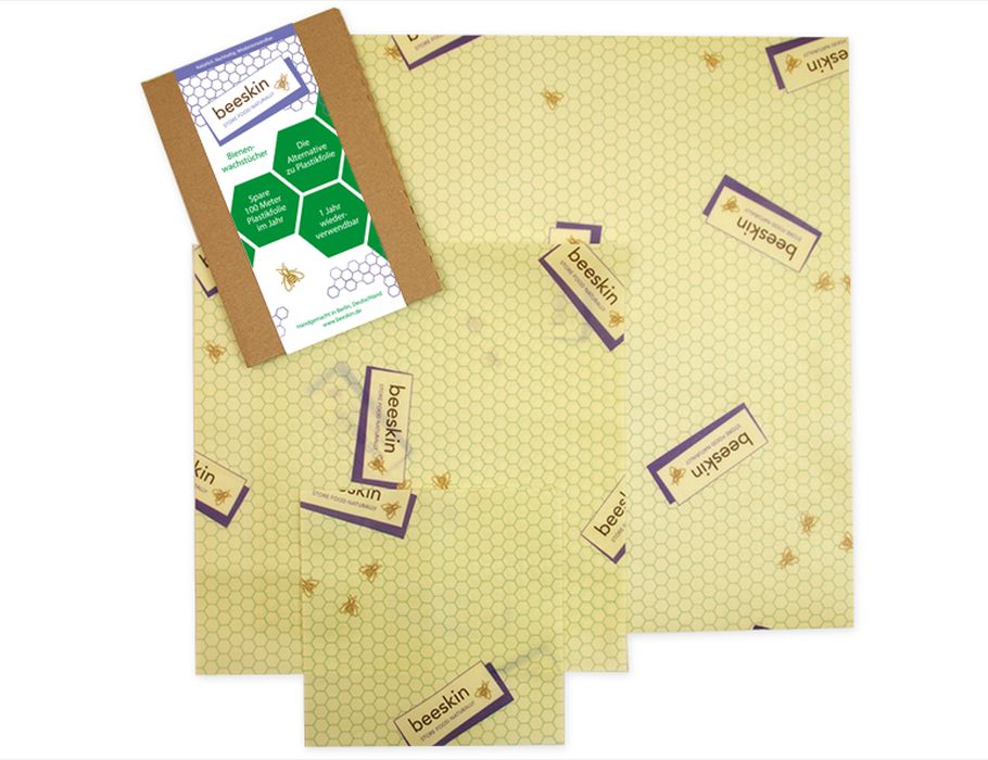 Bijenwasdoeken Set SML