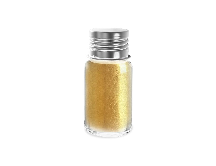 Kinder Glitterpoeder - Goud