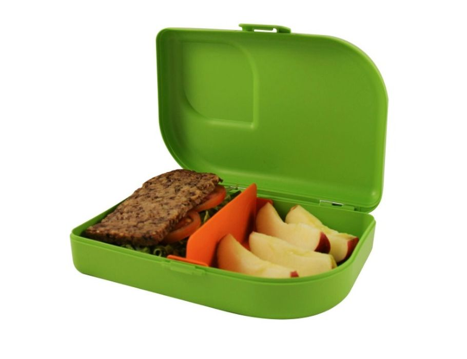 Lunch box Bioplastic Lime Groen