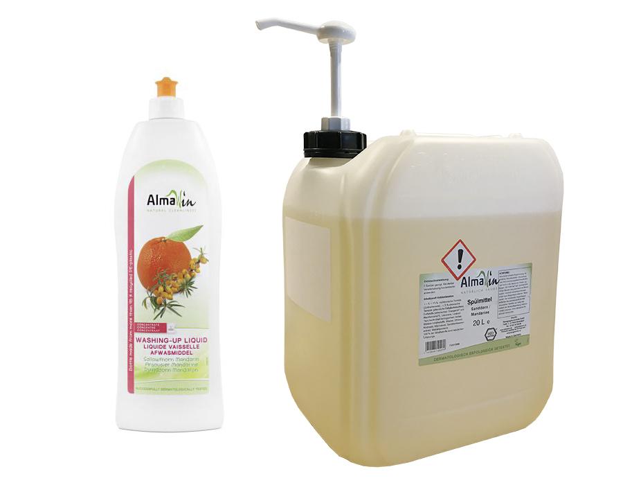 Navulling afwasmiddel Duindoorn & Mandarijn 500 ml