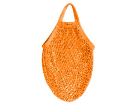 Katoenen boodschappentas - oranje