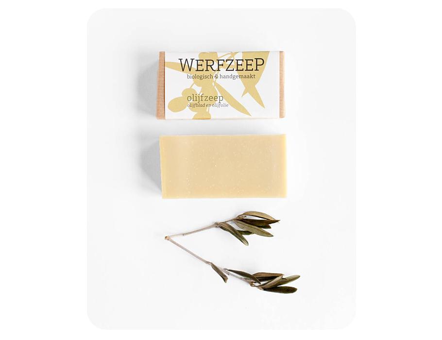 Werfzeep Olijfzeep - 100 gr