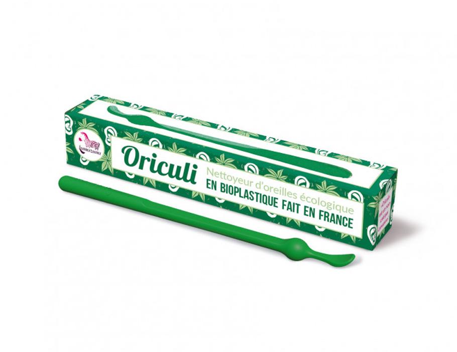 Oriculi oorstokje - bioplastic - groen