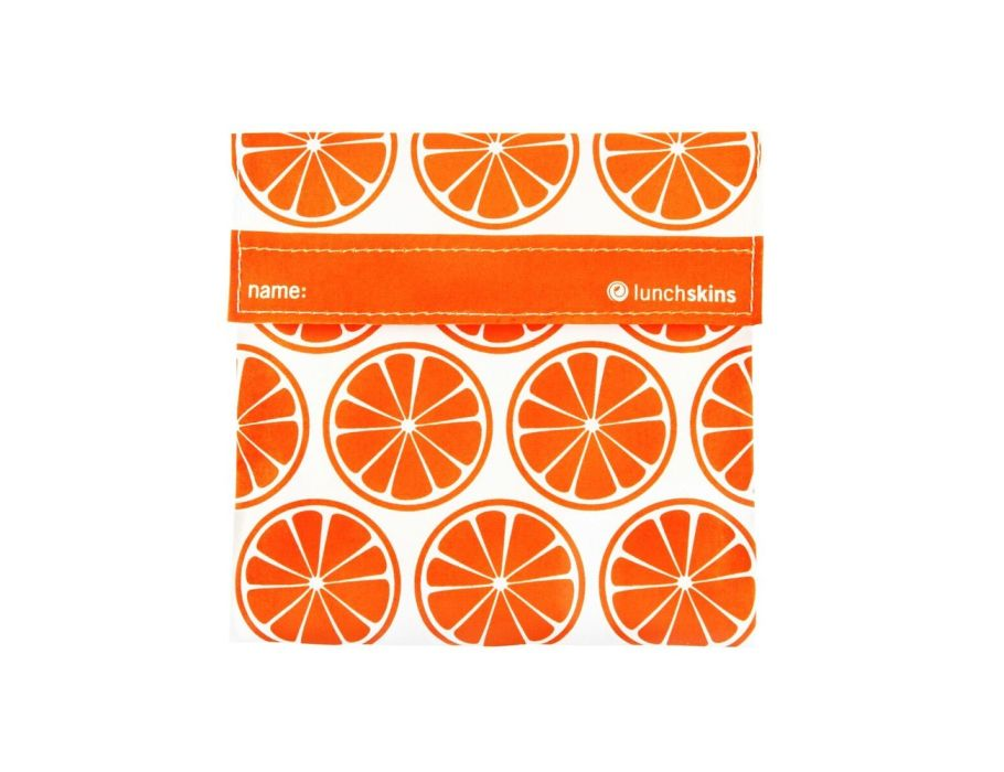 Lunchskin sandwich bag - Orange Tangerine