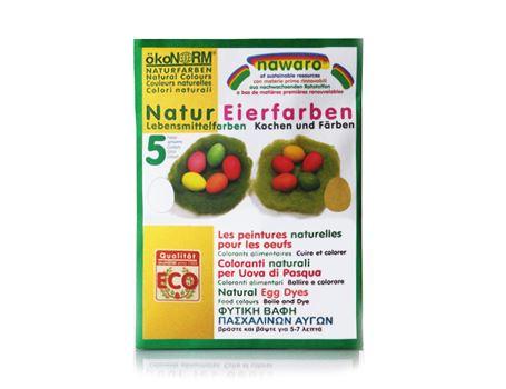 nawaro Eier-Färbefarben - 5 Naturfarben