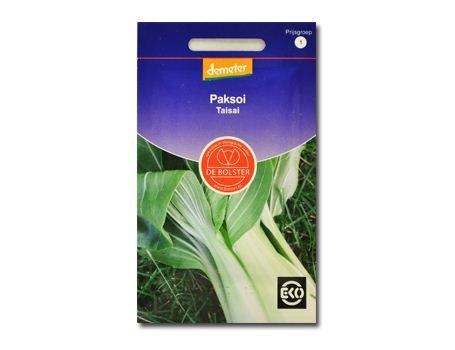 Biologische groenten Paksoi