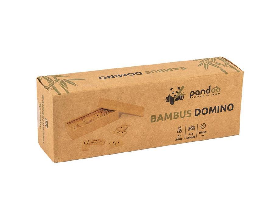 Domino - Legspel - Bamboe