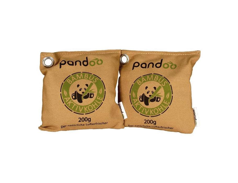 Luchtverfrisser - Bamboe & Houtskool - 2 x 200 gram