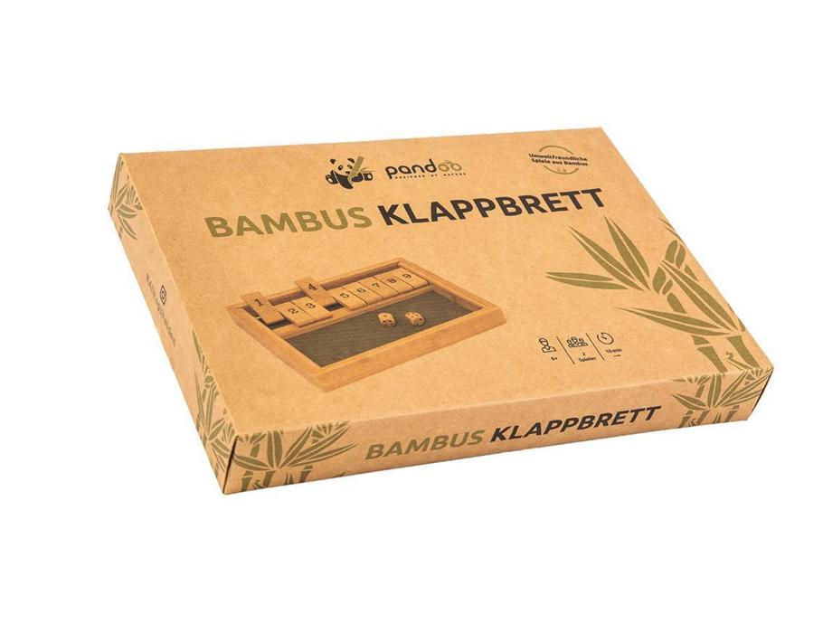 Shut The Box - Dobbelspel - Bamboe
