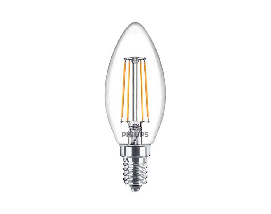Led-Lampe Kerze - E14 - 470 lm - dimmbar