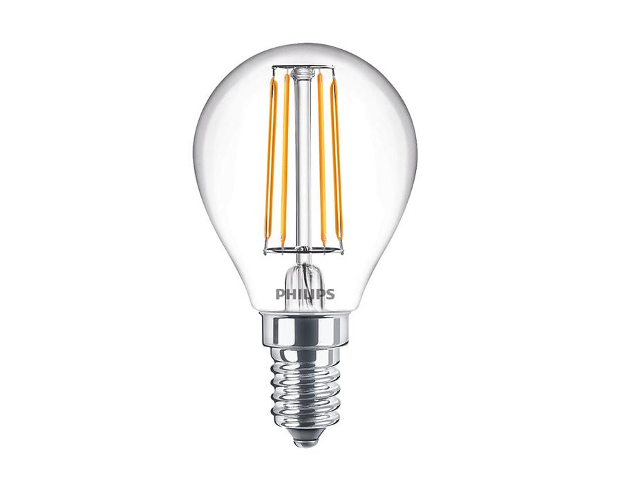 Led-Lampe Kugel - E14 - 470 lm - dimmbar