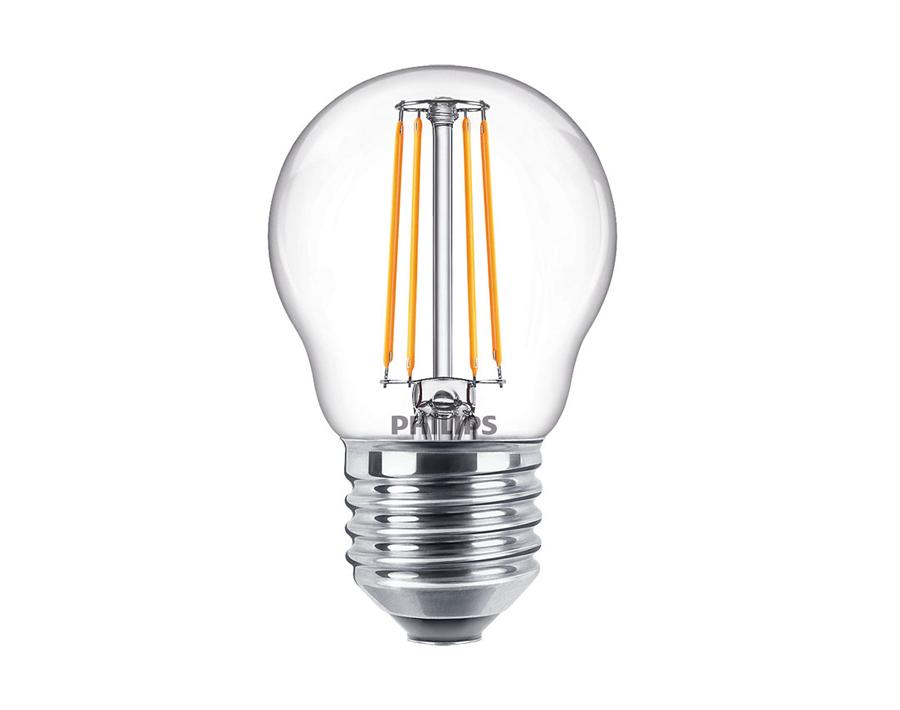 Led-Lampe Kugel - E27 - 470 lm - dimmbar