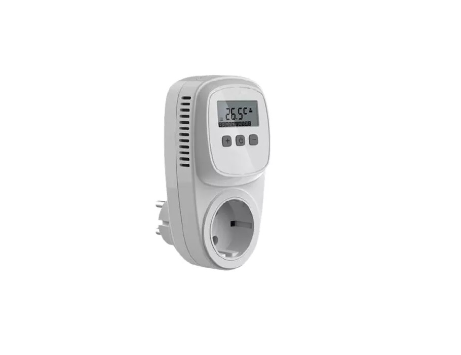 Thermostatsteckdose zur Heiz- oder Kühlsteuerung