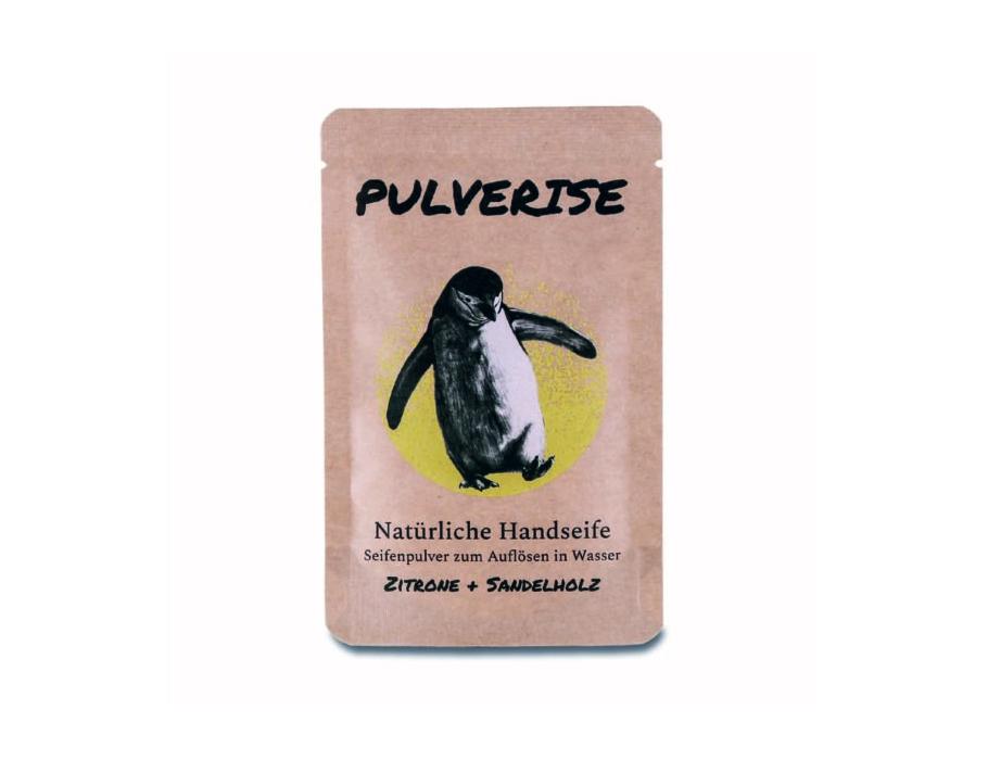 Handseife - Pulver - Zitrone & Sandelholz