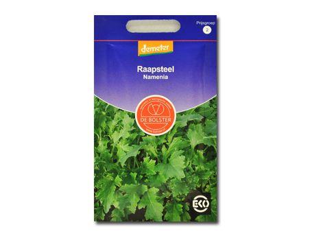 Biologische groenten Raapsteel
