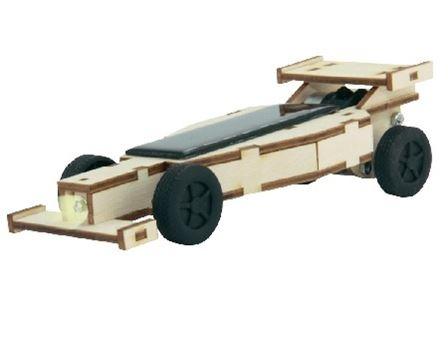 Bouwpakket - Racewagen op zonne-energie - groot