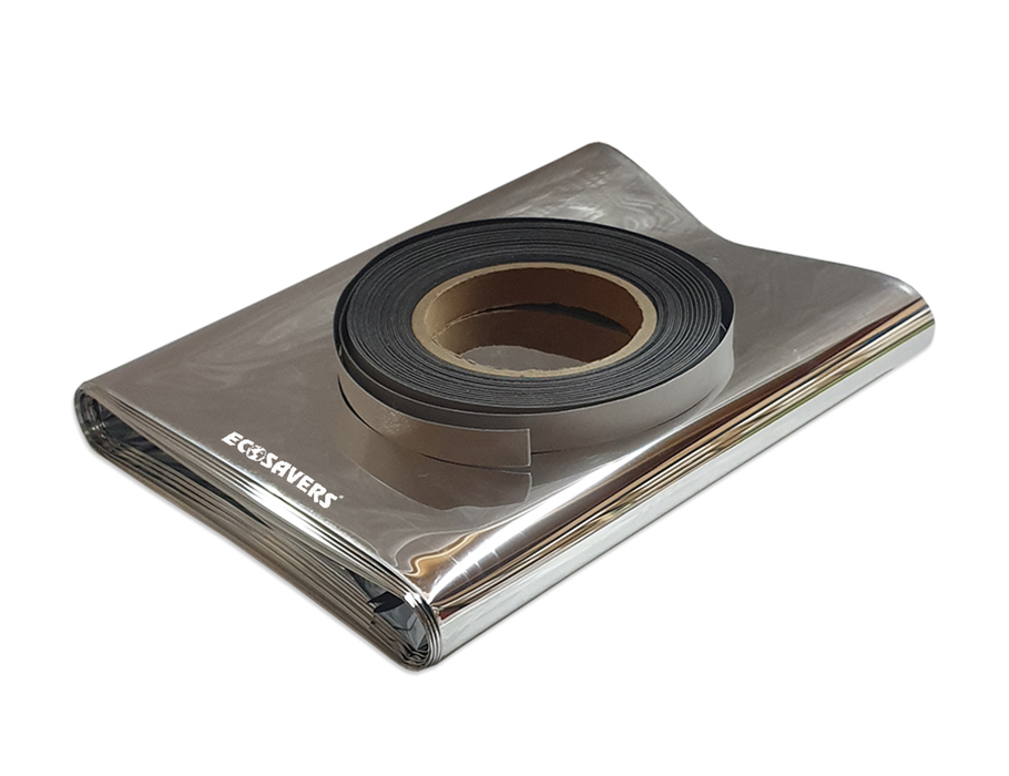 Radiatorfolie met magneetband