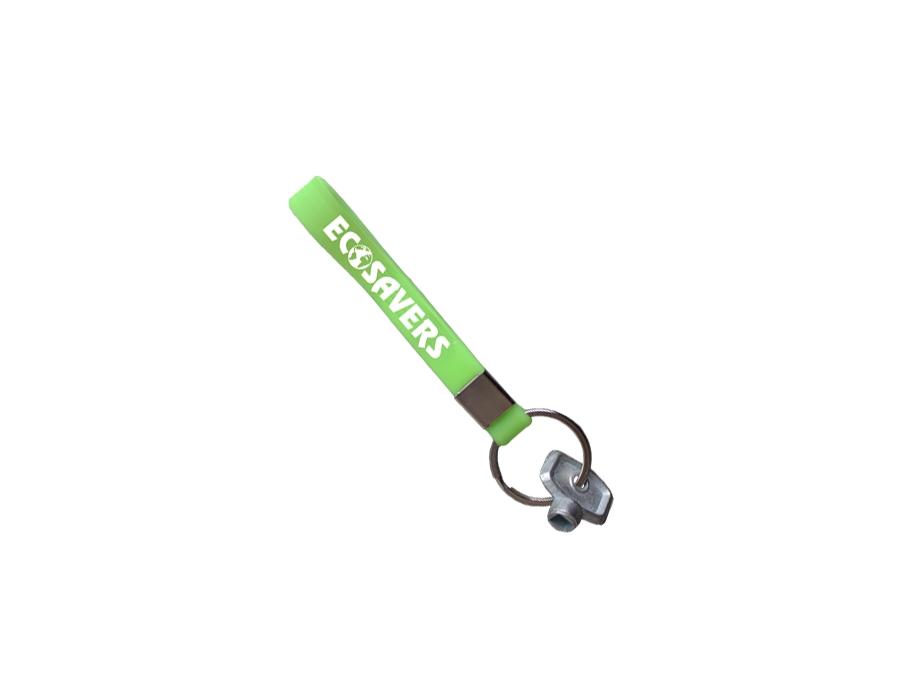 Radiator sleutel - met sleutelhanger
