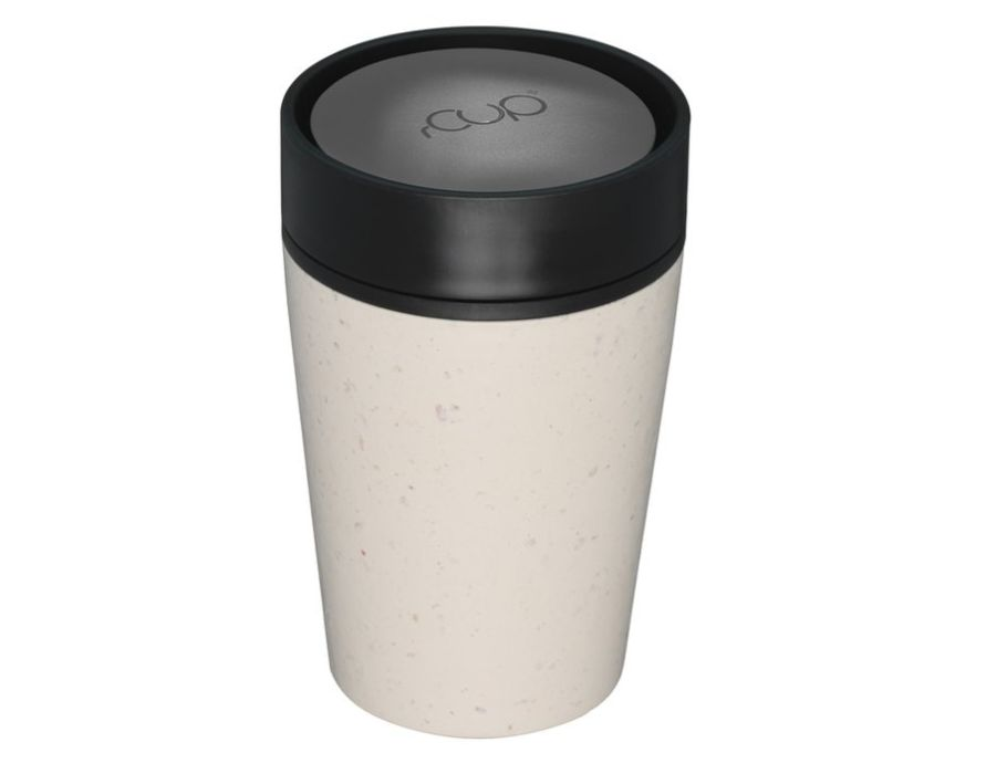 rCUP 240 ml - Cream and Black