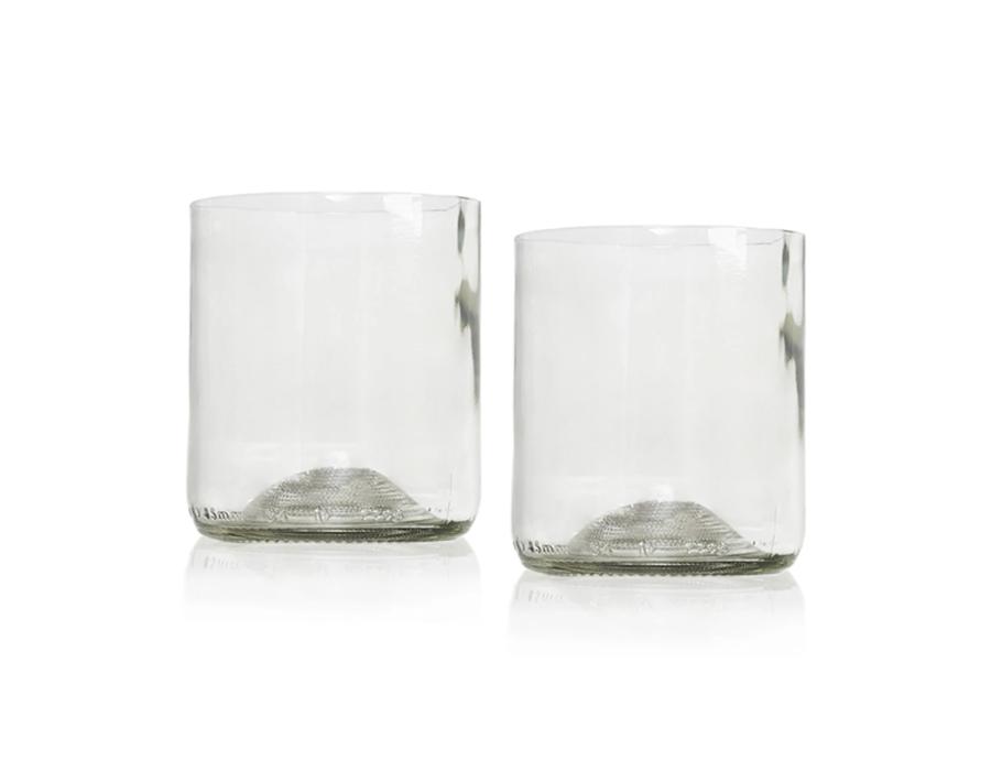 Rebottled Glazen - 2-pack - Clear - Whiskey