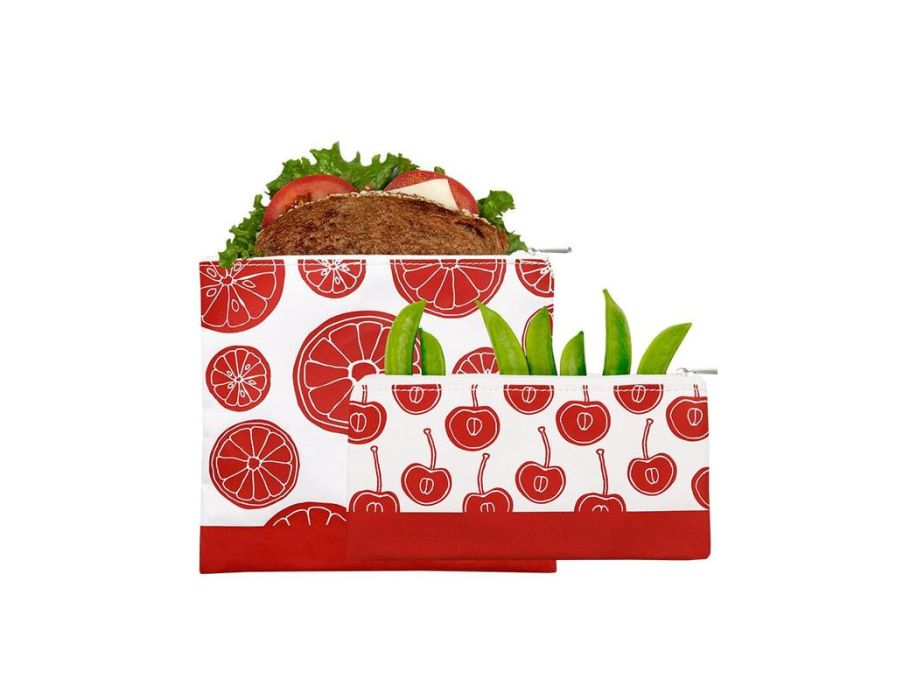 2 pack Zip set – Red Fruit
