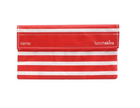 Snack bag - Red stripe