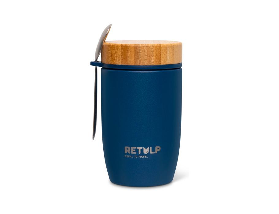 Lunchbeker - Big Mug - Premium Blue - 500 ml