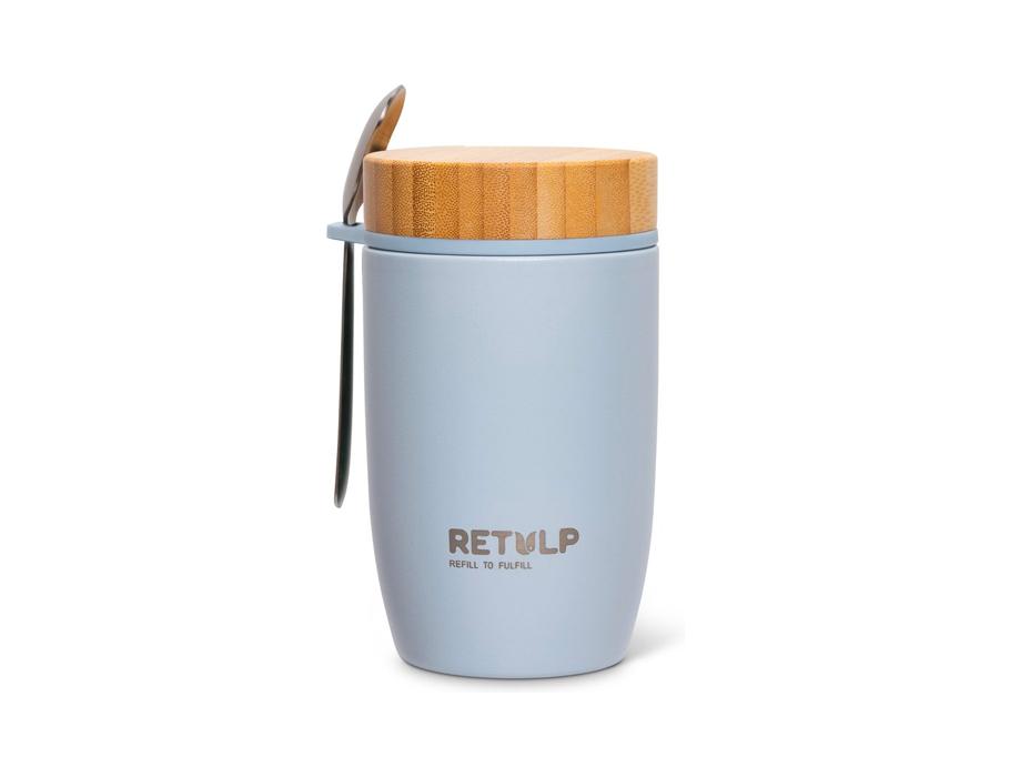 Lunchbeker - Big Mug - Premium Grey - 500 ml