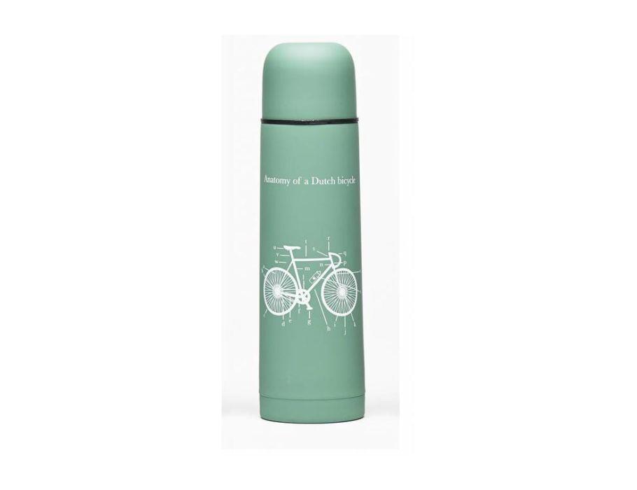 Thermosflasche schwarzes Fahrrad - 500ml