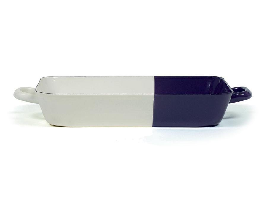 Ovenschaal - 33 x 20 cm - Crème Pruim
