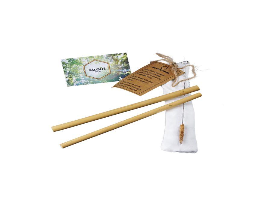 Rietje Bamboe set van 2