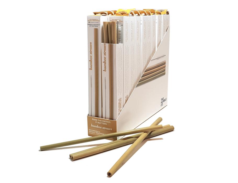 Rietjes Bamboe -20 doosjes in Display