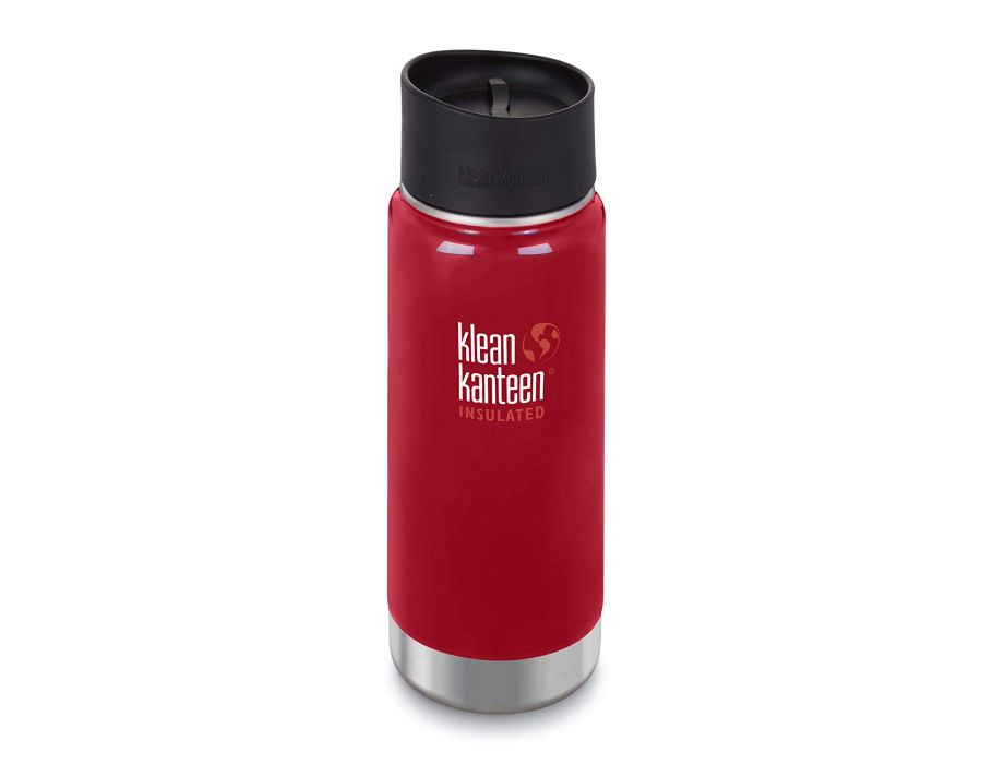 16 oz Thermosfles koffie - brede opening - Mineral Red