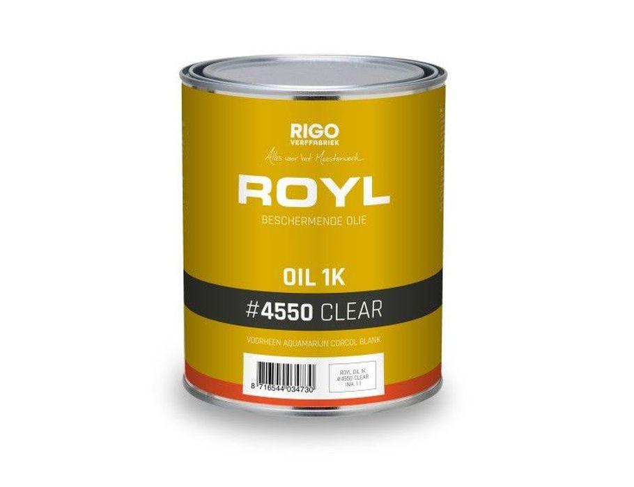 Royl Corcol vloerolie 1L - blank
