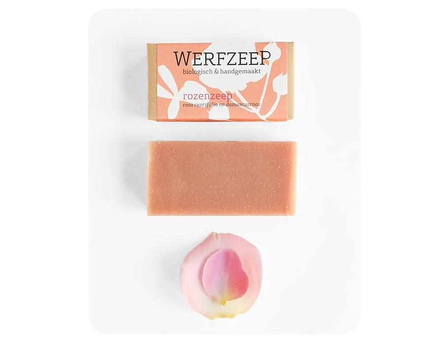 Werfzeep Rozenzeep - 100 gr