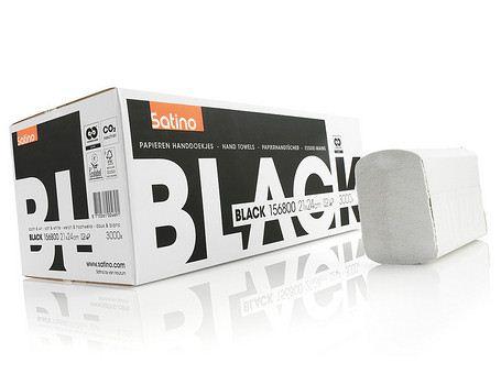 Satino Black papieren handdoekjes