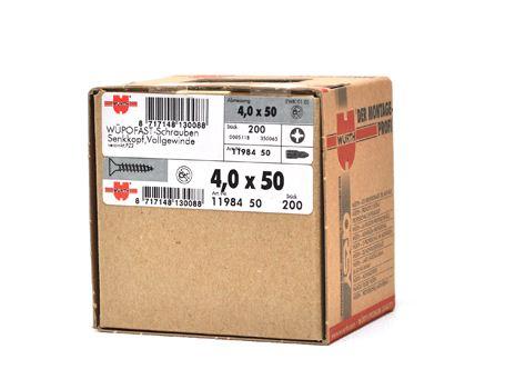 Spaanplaat schroeven - grootverpakking