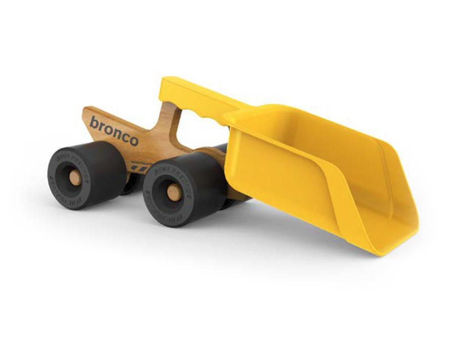 Bronco Lastwagen - mit Schaufeln