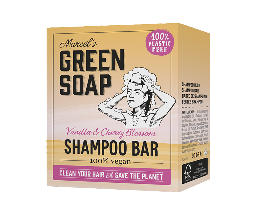 Shampoo bar - Vanille & Kirschblüte - 150g