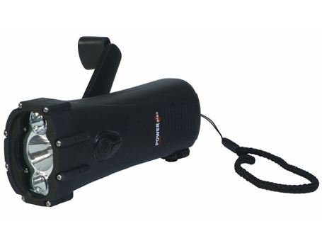 Taschenlampe Windup wasserdicht Hai