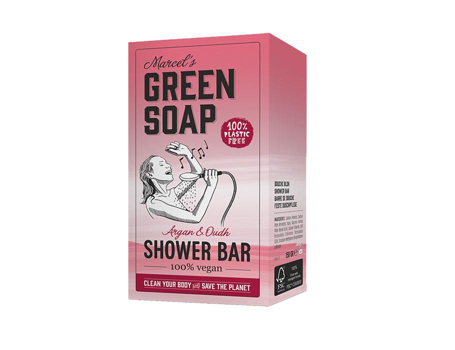 Shower bar - Argan & Oudh - 150g