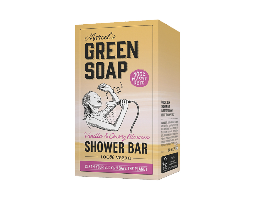 Shower Bar - Vanille & Kersenbloesem - 150g