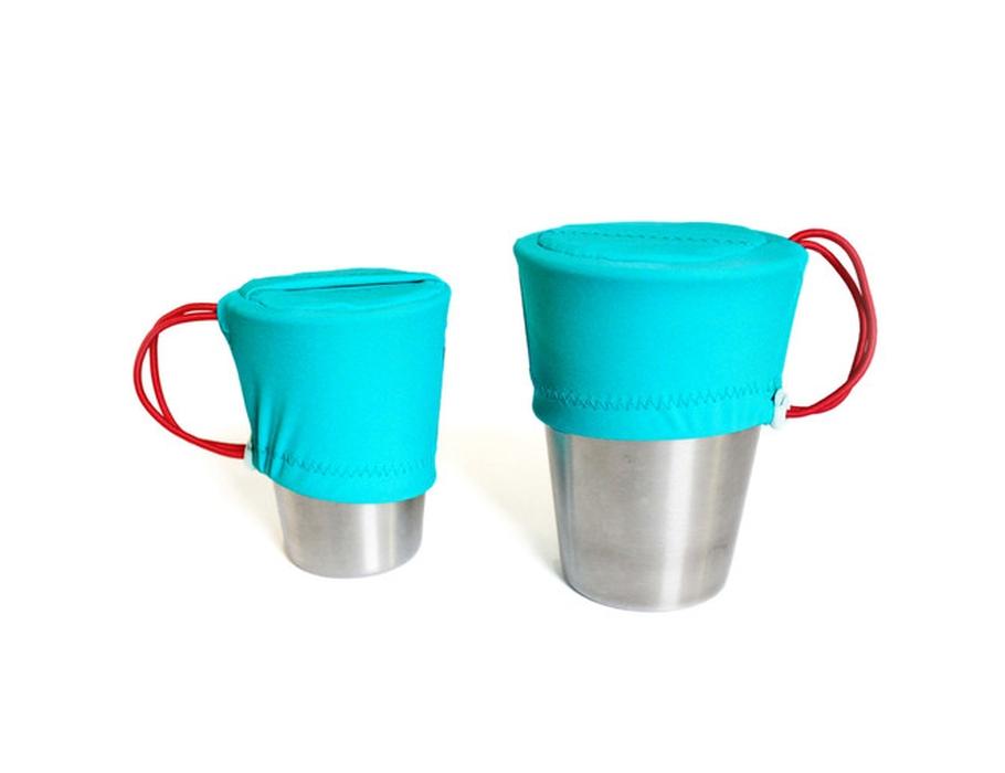 Snack Cup Cover Aqua
